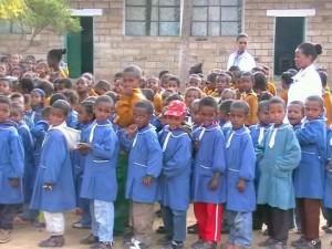 gruppo di bambini di adigrat