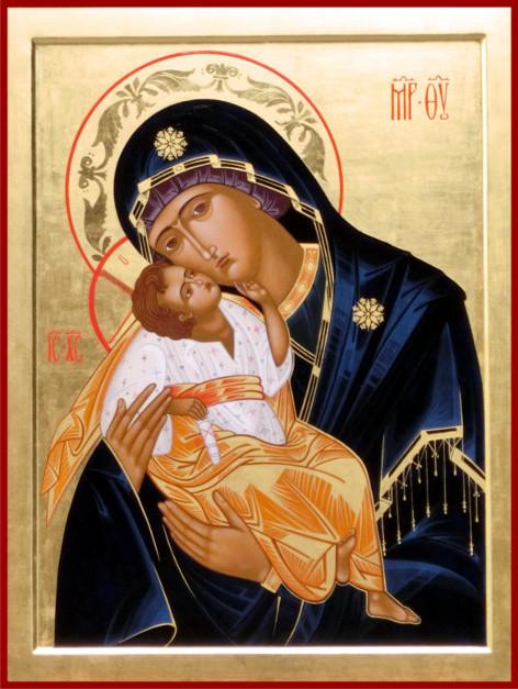 """Estremamente Presentazione dell'icona della """"Madonna della tenerezza  XM15"""